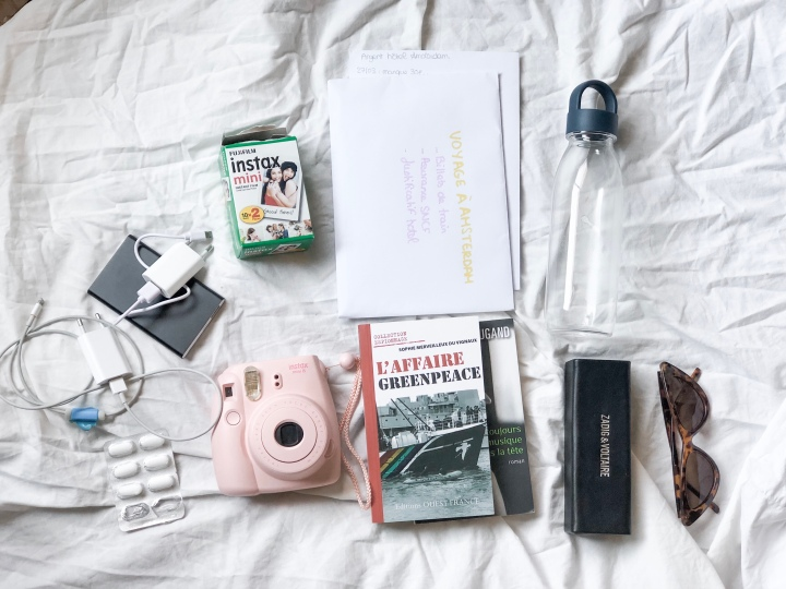 #23 : VOYAGE À AMSTERDAM : WHAT'S IN MY BAGS ? ♡