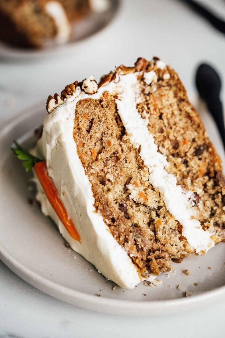 JE TESTE POUR VOUS LE CARROT CAKE ! ♡(RECETTE)
